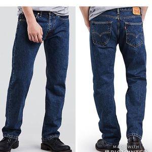 NWT Men's LEVIS 505 regular Straight leg 33x30